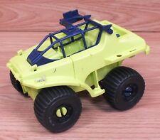 Genuine 1990 Hasbro G.I Joe Plastic Toy Green & Blue Jeep Car Toy Only **READ**