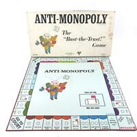 The Anti-Monopoly Game 1973 Bust The Trust Game Complete