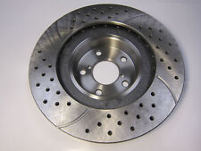 2 Protech Front Drilled Slotted Rotors Fit 2001-07 SEQUIOA 2000-06 TUNDRA 31267