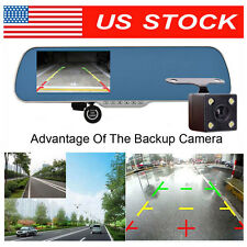 HD 1080P 12MP Rear View Mirror Camera Recorder CAR Dash Cam DVR Smartwild W940