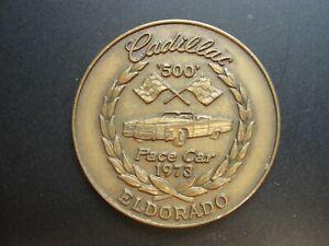 Vintage 1973 Cadillac Pace Car Souvenir El Dorado Coin