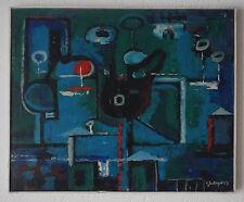 """L. ZEILINGER  (1897/1990) Huile  - """" NOCTURNE  """"  1969  - Signé"""
