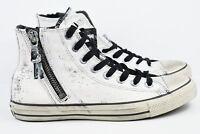 Converse John Varvatos Hi Mens Size 5.5 CTAS Zip Womens Size 7.5 Shoes 153884C
