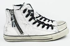 3361f28efeec53 Converse John Varvatos Hi Mens Size 5.5 CTAS Zip Womens Size 7.5 Shoes  153884C