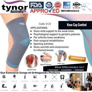 Tynor™ Compression Knee Sleeve for Running CrossFit, Arthritis Gym Workout Sport