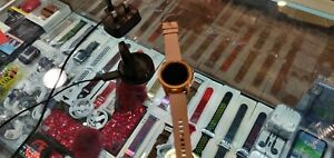 Samsung Galaxy Watch GPS+Cellular 42mm Aluminium Case in Rose Gold and Silicone…