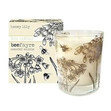 Beefayre Honey Lily Large Scented Candle 20cl