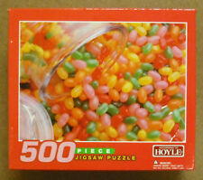 HOYLE - 500 PC  JIG SAW PUZZLE - JELLY BEANS - SUPERSTOCK  - NEW    #ZHOY-5501