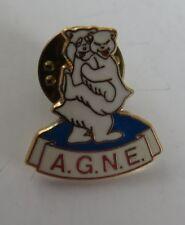 VINTAGE A.G.N.E. BEAR ENAMEL LAPEL PIN                          (INV16875)