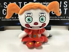 """FUNKO Five Nights At Freddy's: Sister Location Baby (Circus) Plush 6"""" New"""