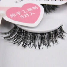 Natural Soft Cross False Eyelashes Fashion Handmade Thick Eye Lashes 50Pairs