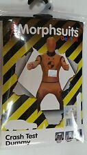 New CRASH TEST DUMMY COSTUME  Lg MORPHSUIT fits HEIGHT 5'4-5'10