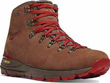 "Danner Women's Mountain 600 4.5"" Waterproof Hiking, Brown/Red - Suede, Size 7.5"
