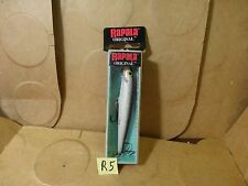Rapala F-9 Original Floating Lure, Silver, #F09 S (New/Old Stock)