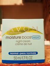 AVON elements moisture boost night cream 1.7 oz.