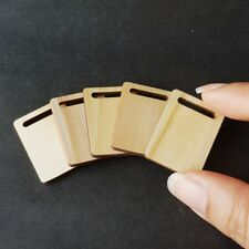 5x Wooden Wood Chopping Board Dollhouse Miniature Food Kitchen Wholesale Lot New
