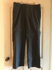 Mountain Designs size 16 woman's convertible hiking pants Tellus. Colour -Grey.