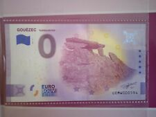 BILLET EURO SOUVENIR 2021-3 GOUEZEC KARREG AN TAN