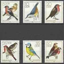 Timbres Oiseaux RDA Allemagne 2056/61 ** lot 17822