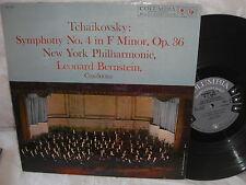 LEONARD BERNSTEIN COLUMBIA 6 EYE LP ML-5332 TCHAIKOVSKY SYMPHONY #4 E+