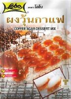 LOBO Coffee Agar Dessert Mix 4 oz 115g No Perservatives Added Made in Thailand
