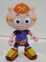 "Super Why Alpha Pig Action Figure 6"" Toy Learning Curve PBS Kids RARE"