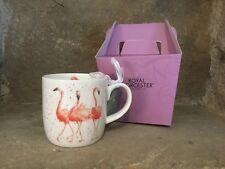 Wrendale Designs Pink Ladies Flamingo bone china mug