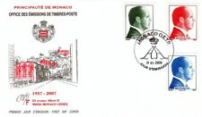 Prince ALBERT II ( Effigies ) - FDC  MONACO de 2007