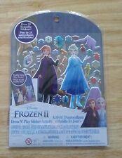 Disney Frozen Ii Dress N' Play Sticker Activity- New