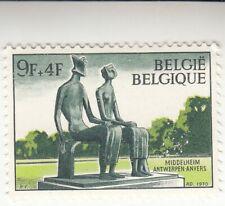 King and Queen by Henry Moore. Belgium 1970. Middelheim Museum, Mnh