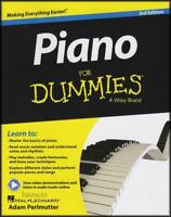 Piano for Dummies 3rd Edition Music Book/Audio/Video Learn to Play Method