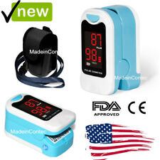 Finger Pulse Oximeter LED Blood Oxygen Heart Rate Monitor Factory Sale LED USPS