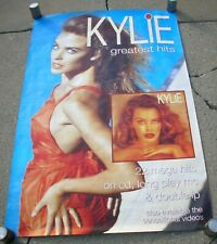 Kylie Minogue Greatest Hits Vintage Uk Subway Promo Poster Mint- 1992 Original!