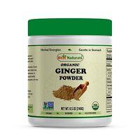 Best Naturals USDA Certified Organic Ginger Root Powder 8.5 OZ (240 Gram)