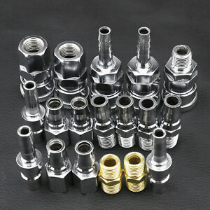 Coupler Set Air Fittings Air Hose Compressor Nitto Style Connector Set 18pcs
