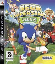 Playstation 3 SEGA SUPERSTARS TENNIS * DEUTSCH BRANDNEU