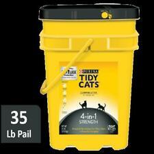 35 Pounds Powerful Clumping Cat Litter 4 In 1 Strength Purina Tidy Cats Formula