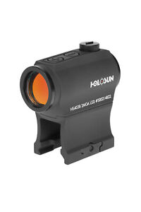 HOLOSUN HS403B Open Reflex Sollar Hunting Tactical Red Dot Black