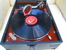 HMV portable gramophone model 101, fully serviced