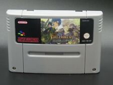 Fire Emblem 4 Genealogy Of The Holy War For SNES PAL (English Version)