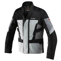 Spidi Traveler 2 H2Out Motorcycle Motorbike Textile Jacket Ice / Black