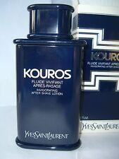 KOUROS YSL   '80 INVIGORATING AFTER SHAVE LOTION 100 ml RARE VINTAGE