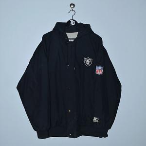 Vintage Starter Los Angeles Raiders Jacket. X-Large
