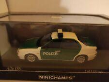 Alfa Romeo 156 Polizei  Minichamps 1:43 NEU OVP