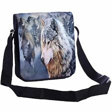 Buffalo And Wolf Small Cross-Body Shoulder Bag Handy Size