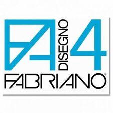 ALBUM DISEGNO FABRIANO F4 20 fogli 33X48 LISCIO - RUVIDO - RIQUADRATO