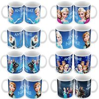 Personalised Frozen Characters Any Name Mug