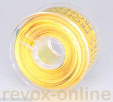 Vorlaufband gelb, Kennband, ca. 5,0m, von revox-online, leader tape, yellow