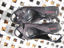 Ladies Playboy Shoes Black Size 6 NEW {RRP £55.00} FREEPOST