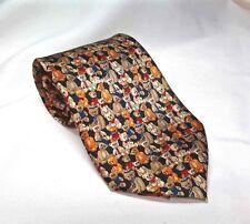 Teddy Bear Classic Silk Neck Tie 100 Year Anniversary Museum Artifacts Unisex